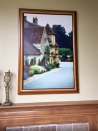 Original photograph with oil painting. Impressionism style by John Galbo 'RENAISSANCE'
