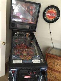 Terminator pinball.