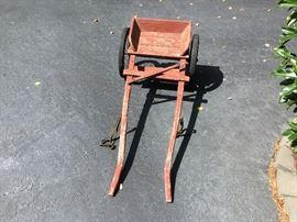 It's a goat cart.