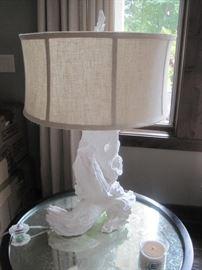 """Driftwood"" style Lamp."