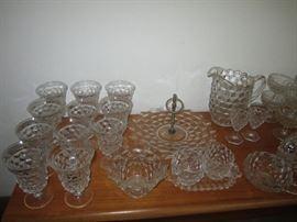American Fostoria crystal