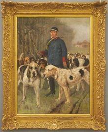 "Charles Verlat, 1886, ""Huntsman"""