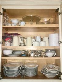 Kitchen with essentials