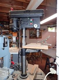 WORK SHOP FULL OF WOODWORKING TOOLS