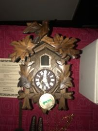 Vintage Made in Germany Cuckoo Clock New in Box