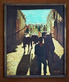 Original painting by Palmiro