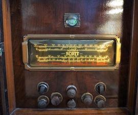 Antique Scott radio
