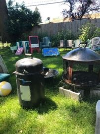 Firepits and Smoker