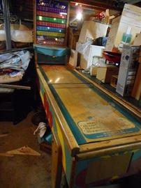 Pinball Bowling Game 74.5 Height, 2 Feet Wide (Score Board),