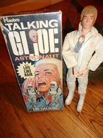 Habro 60's Talking GI JOE. Has Clothes, Dog Tag, Boots, Does Talk. with Original Box