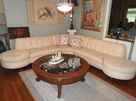 Hollywood Regency/Mid-Century Modern Sofa