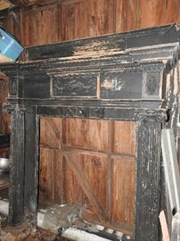 Antique Fireplace Mantle $300.00