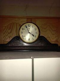 WATERBURY HUMPBACK CHIME CLOCK
