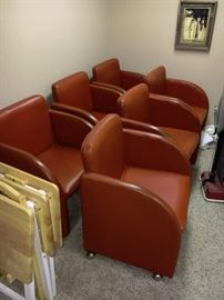 SHELBY WILLIAMS CHAIR SET 1970'S
