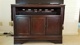 Television stand cabinet