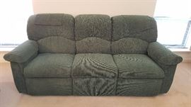 La-Z-Boy CLEAN sofa in on-trend soft turquoise