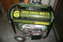 6k propane generator