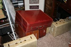 Antique Leather Suitcases