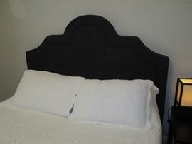 Close up of headboard