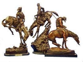 Western Theme Bronzes