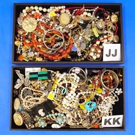 Costume Jewelry - Lots of Cocktail Jewelry