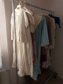 Vintage and Antique Clothing ranging from Ladies to Children's.