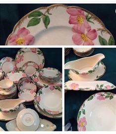 Beautiful Franciscan Desert Rose Dinnerware