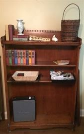 Dental Bookcase with extra shelves that go with this nice solid wood piece.