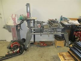 Shopsmith Setup with Lathe, Band Saw, Scroll Saw, Router, Dust Collection System & More!