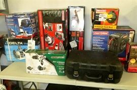 Bench Grinders, Air Tools, Chop Saws, Routers, Cordless Drills & Sawz-Alls