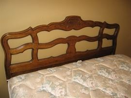 Beautiful Drexel Queen Headboard with Queen Mattress...