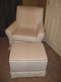 Little Castle Swivel Rocker/Glider with Ottoman...