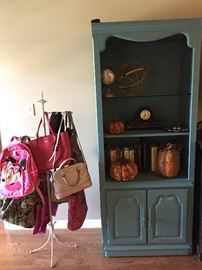 The Other Matching Cabinet/Bookcase, Some more of the Décor... Lots of Really Nice Bags...