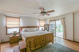King Pine bed frame, King memory foam mattresses