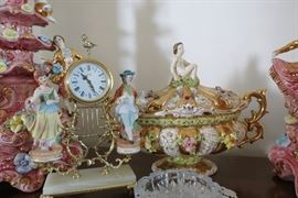 Capodimonte Tureen and other