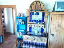 Check out this nice piece with Spanish tiles!