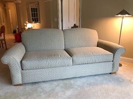 The Well Dressed House custom sofa