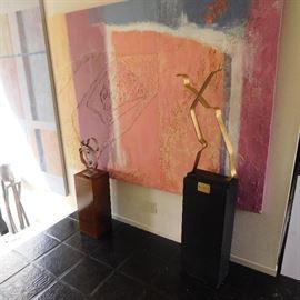 Joseph Cotten sculpture