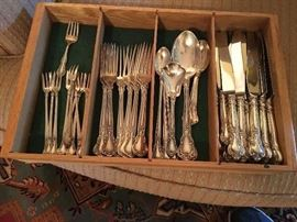 CHANTILLY STERLING SILVER FLATWARE