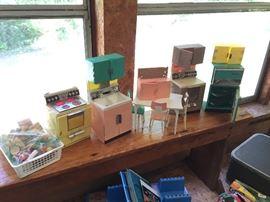 Barbie Doll Kitchen & Supplies