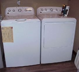 New General Electric Washer & Dryer