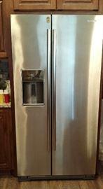 New Jenn Air Refrigerator Stainless Steel