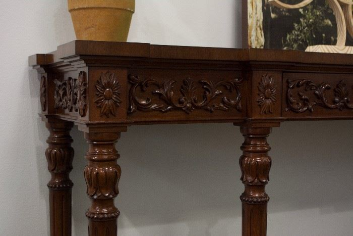 An English continental sideboard.  By Kindel Furniture  (Appraised: $3,000).  For Sale: $700.