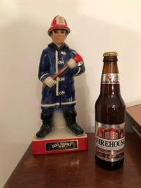 Ezra Brooks Fireman Decanter