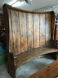 Early 1800's Texas bench. In excellent condition. Gorgeous piece. $2,000
