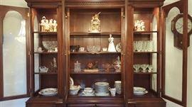 Sloan china cabinet