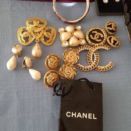 Authentic Chanel jewelry