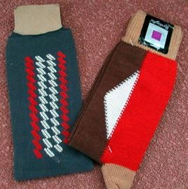 Vintage men's socks, ties, accessories