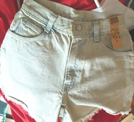 vintage 80s Jordache  shorts & jeans old stock