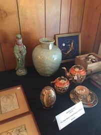 Celadon and other Asian items